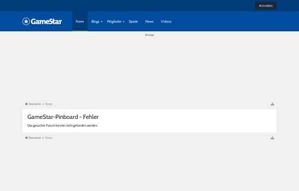 Vorschau von www.gamestar.de, Linux-Forum - GameStar-Pinboard