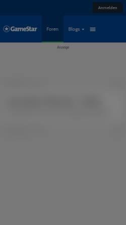 Vorschau der mobilen Webseite www.gamestar.de, Linux-Forum - GameStar-Pinboard