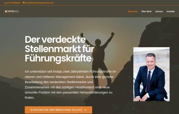 Vorschau von www.wolframjeromin.de, Wolfram Jeromin