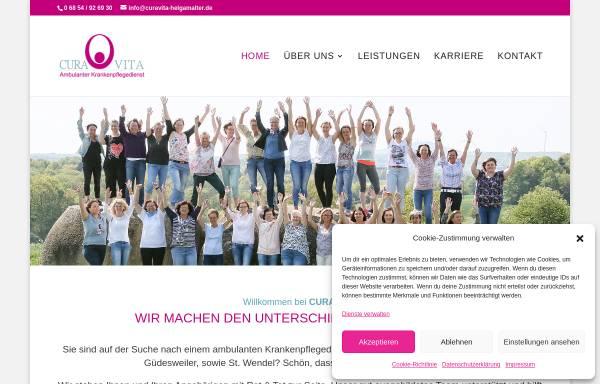 Vorschau von www.curavita-helgamalter.de, Cura Vita