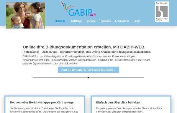 Vorschau von www.gabip.de, GaBi, Nina & Sebastian Held