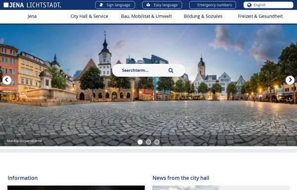 Vorschau von www.jena.de, Volkshochschule Jena