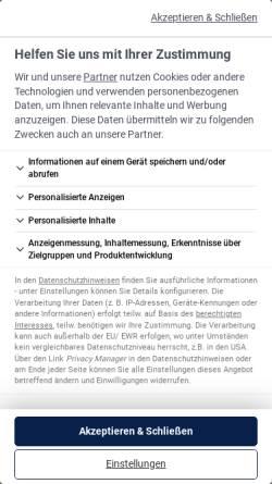 Vorschau der mobilen Webseite www.bauingenieur.de, Bauingenieur