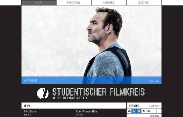 Vorschau von www.filmkreis.tu-darmstadt.de, Studentischer Filmkreis an der TU Darmstadt