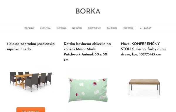 Vorschau von www.borka.sk, Ferienhaus Bôrka