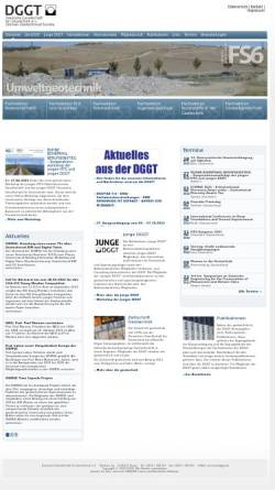 Vorschau der mobilen Webseite dggt.de, Deutsche Gesellschaft für Geotechnik e.V. (DGGT)