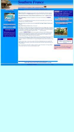 Vorschau der mobilen Webseite www.southernfrance.biz, Southern France
