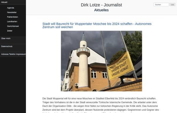 Vorschau von www.lotze.de, Ursula Lotze's Ferienhäuser
