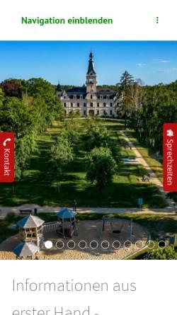Vorschau der mobilen Webseite www.stahnsdorf.de, Stahnsdorf