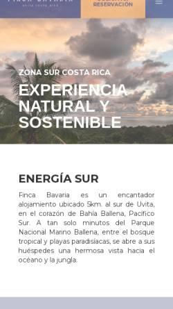 Vorschau der mobilen Webseite www.finca-bavaria.de, Hotel Finca Bavaria