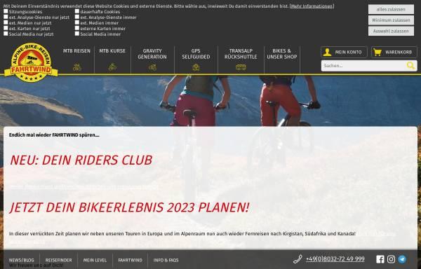 Vorschau von www.mtb-fahrtwind.de, Fahrtwind