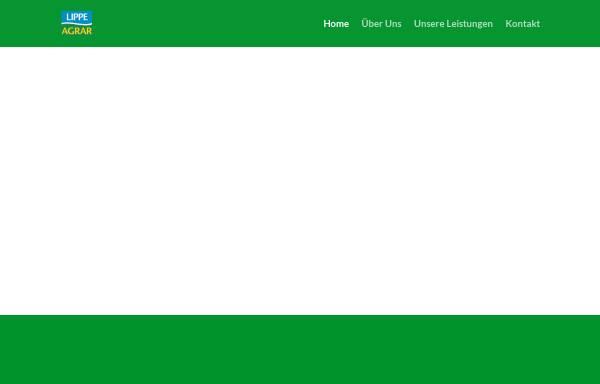 Vorschau von www.lippeagrar.de, Lippe Agrar Handelsgesellschaft mbH