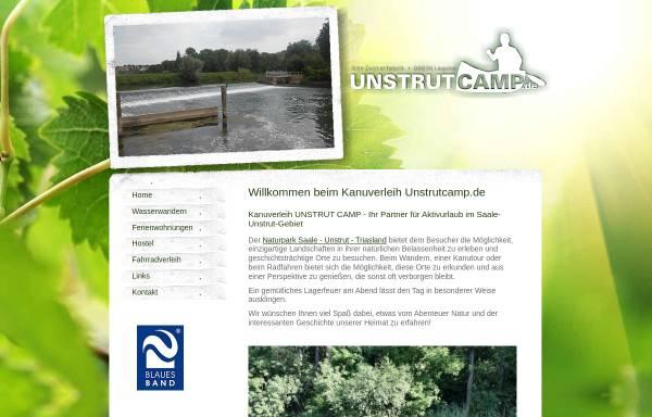 Vorschau von www.unstrutcamp.de, Unstrutcamp Inh. Chris Dabbert