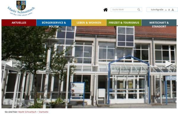 Vorschau von www.schnaittach.de, Markt Schnaittach