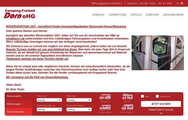 Vorschau von dorn1.de, Camping-Freizeit Dorn oHG
