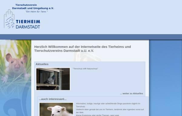 Vorschau von tsv-darmstadt.de, Tierschutzverein Darmstadt e.V.
