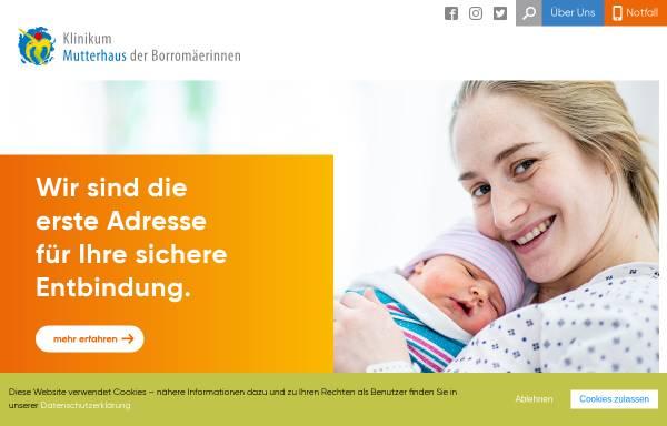 Vorschau von www.mutterhaus.de, Klinikum Mutterhaus der Borromäerinnen