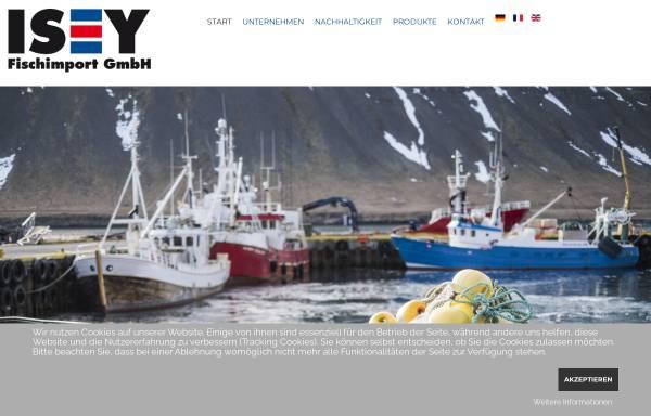 Vorschau von www.isey.de, ISEY - Fischimport GmbH