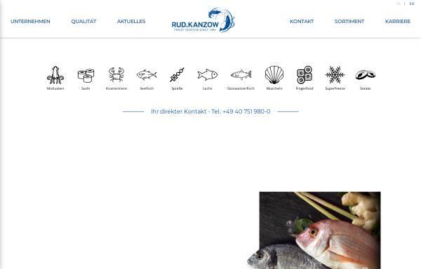 Vorschau von kanzow.de, Rud. Kanzow GmbH&Co KG
