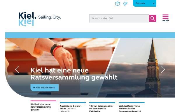 Vorschau von www.kiel.de, Landeshauptstadt Kiel