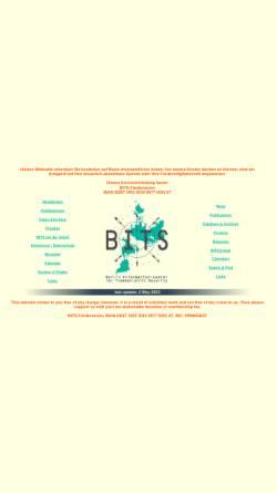 Vorschau der mobilen Webseite www.bits.de, BITS - Berliner Informationszentrum für transatlantische Sicherheit