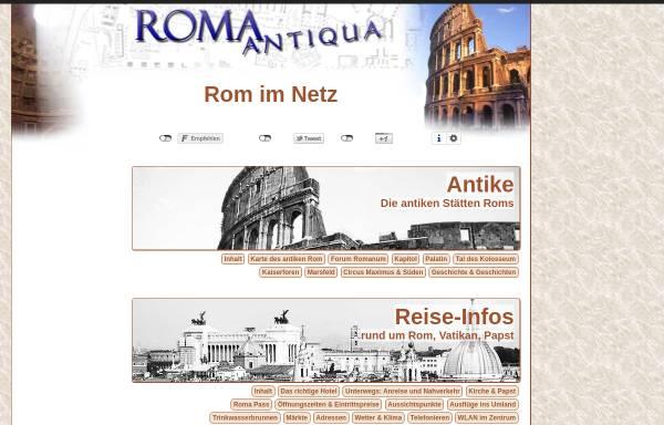 Vorschau von www.roma-antiqua.de, Roma Antiqua