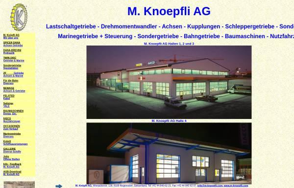Vorschau von www.m-knoepfli.com, M. Knöpfli AG
