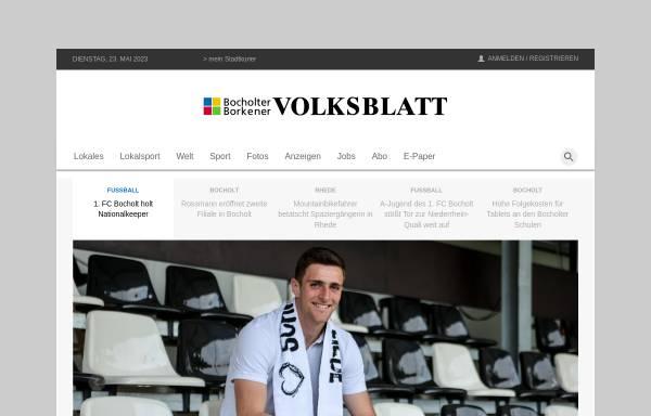 Vorschau von www.bbv-net.de, Bocholter-Borkener Volksblatt (BBV)