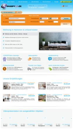 Vorschau der mobilen Webseite conzeptplus.de, conzeptplus [CONZEPTplus OHG]