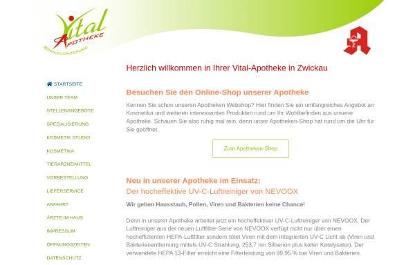 Vorschau von www.vitalapotheke.com, Vital-Apotheke e.K.