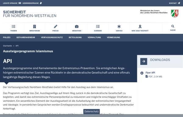 Vorschau von www.mik.nrw.de, Ministerium für Inneres und Kommunales des Landes Nordrhein-Westfalen (MIK NRW)