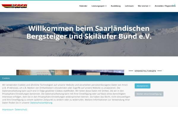 Vorschau von www.sbsb-saar.de, Saarländischer Bergsteiger- und Skiläuferbund e. V.