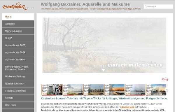 Vorschau von www.baxrainer.at, Baxrainer, Wolfgang