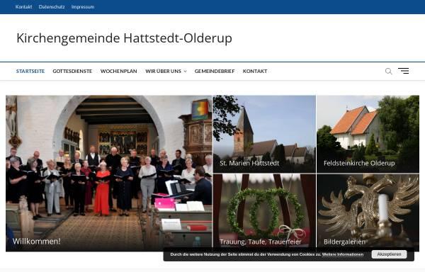 Vorschau von kirchengemeinde-hattstedt.de, Kirchengemeinde Hattstedt
