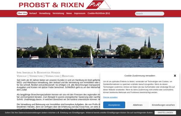 Vorschau von www.probst-rixen.de, Probst & Rixen