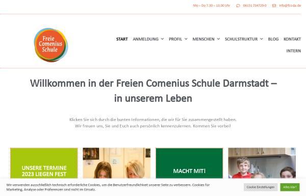 Vorschau von www.fcs-da.de, Freie Comenius Schule Darmstadt