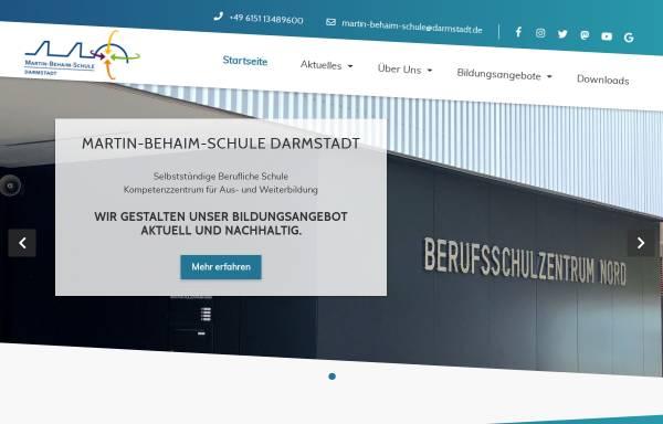 Vorschau von www.mbsonline.de, Martin-Behaim-Schule