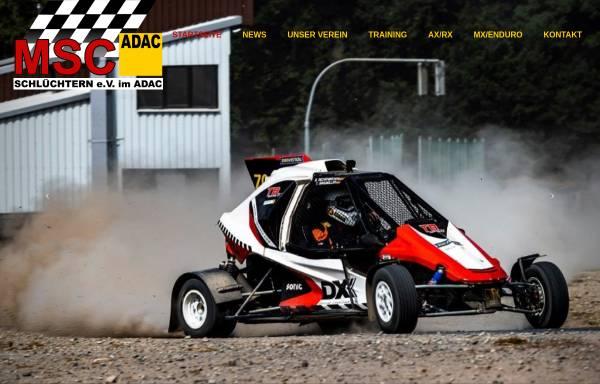 Vorschau von www.msc-schluechtern.de, MSC Schlüchtern e.V. im ADAC