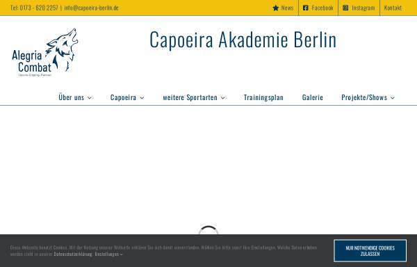 Vorschau von www.capoeira-berlin.de, Capoeira - Topazio in Berlin