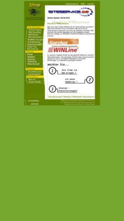 Vorschau der mobilen Webseite www.siteservice.de, SITEC Schröter Informationstechnik