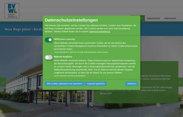 Vorschau von www.vvwl-bildungswerk.de, Bildungswerk Verkehrsgewerbe Westfalen Lippe e.V.