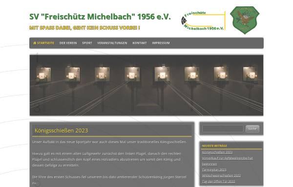 Vorschau von www.freischuetz-michelbach.de, Freischütz Michelbach 1956 e.V.