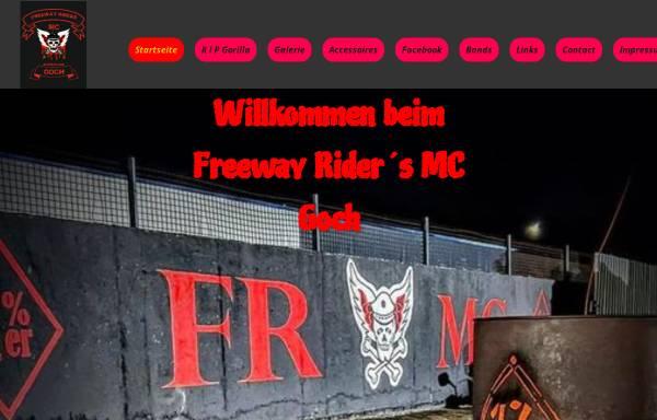 Vorschau von www.freewayridersgoch.de, Freeway Riders MC Chapter Goch