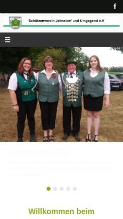 Vorschau der mobilen Webseite sv-jelmstorf.de, Schützenverein Jelmstorf und Umgebung e.V.