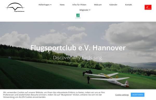 Vorschau von www.flugsportclub.com, Flugsportclub Hannover e.V.