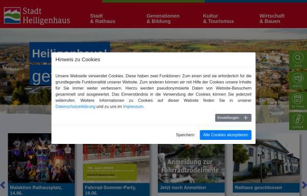 Vorschau von www.heiligenhaus.de, Stadt Heiligenhaus