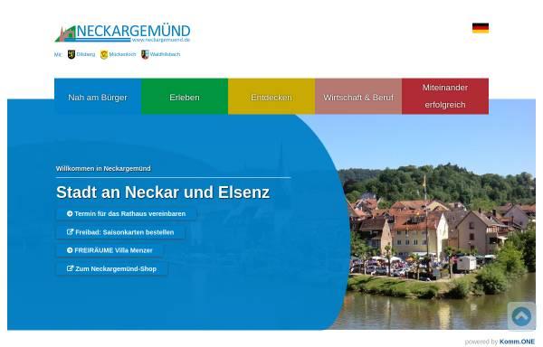 Vorschau von www.neckargemuend.de, Stadt Neckargemünd