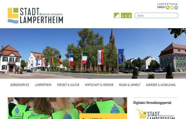 Vorschau von www.lampertheim.de, Stadt Lampertheim