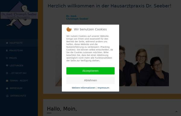 Vorschau von www.doktor-seeber.de, Dr. Seeber