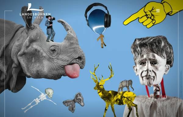 Vorschau von www.dresden-theater.de, Landesbühnen Sachsen